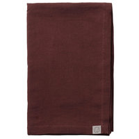 &Tradition Collect Linen SC31 päiväpeitto, 240 x 260 cm, burgundy