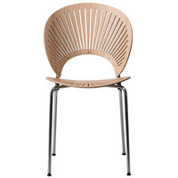 Fredericia Trinidad tuoli, lakattu tammi - kromi