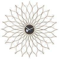 Vitra Sunflower Clock seinäkello, koivu