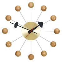 Vitra Ball Clock seinäkello, kirsikka