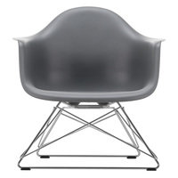 Vitra Eames LAR lepotuoli, granite grey - kromi