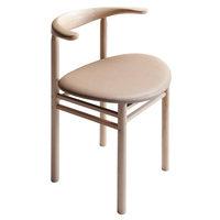 Nikari Linea RMT3 tuoli, saarni - nude nahka