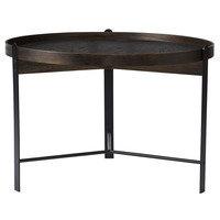 Warm Nordic Compose sohvapöytä, 70 cm, savustettu tammi - musta