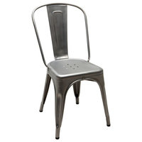 Tolix Tuoli A, Satine lakattu metalli