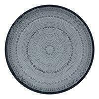 Iittala Kastehelmi lautanen 248 mm, tummanharmaa