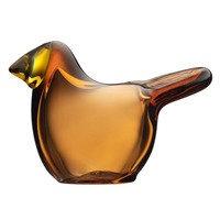 Iittala Birds by Toikka Sieppo, kupari - sitruunankeltainen