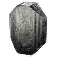 Iittala Kartta lasiveistos 240 x 335 mm, tummanharmaa