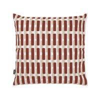 Artek Siena tyynynpäällinen, 40 x 40 cm, tiilenpunainen - hiekanruskea