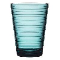 Iittala Aino Aalto juomalasi 33 cl, merensininen, 2 kpl