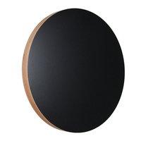Kotonadesign Muistitaulu pyöreä, musta