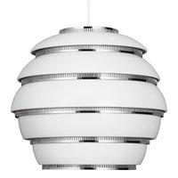 Artek Aalto riippuvalaisin A331 ''Mehiläispesä'', valkoinen - kromi