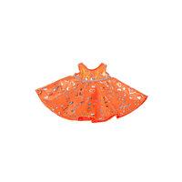 Kimalteleva oranssi mekko, 40 cm
