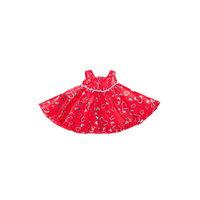 Kimalteleva punainen mekko, 40 cm