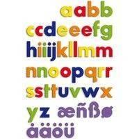 Pieniä magneettisia kirjaimia (Quercetti 054628)
