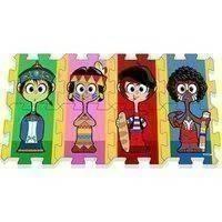 Leikkimatto lasten kuvilla (674003)