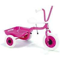 Vaaleanpunainen Kolmipyörä laatikolla (Winther 40525)