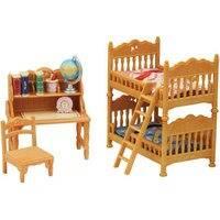 Maalaistalon lastenhuone kerrossängyllä (Sylvanian Families 5338)