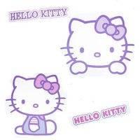 Hello Kitty Wallstickers (Hello Kitty 652047)