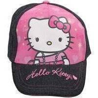 Hello Kitty Kasket Denim/Lyserød 52 cm (Hello Kitty)