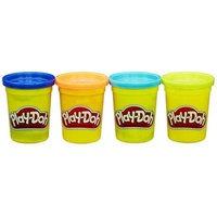 Play Doh 4 purkkia muovailuvahaa (Play-Doh)