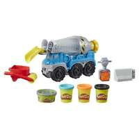 Pelaa Doh-sementtikuorma-autoa (Play-Doh)