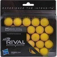 Rival -kuulat 25 kpl Nerf (Nerf)