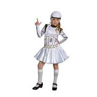 Stormtrooper-tyttö 125 cm (Star Wars 886844)