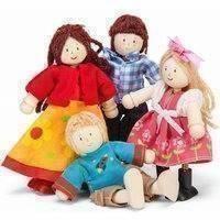 Nukkeperhe, 4 nukkea (Le Toy Van)