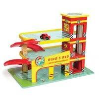 Dinon autotalli (Le Toy Van)