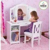 Meikkauspöytä ja tuoli Deluxe (Kidkraft 13018)