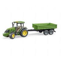 John Deere 5115M traktori perävaunulla (Bruder 2108)