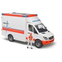 Mercedes Benz Sprinter ambulanssi ja ensihoitaja (Bruder 2536)