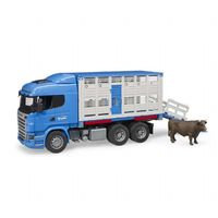 Scania R-sarjan eläinkuljetus (Bruder 03549)