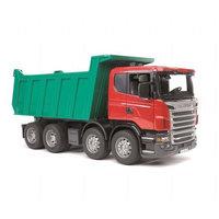 Scania rekka kaato-ominaisuudella (Bruder 3550)