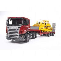 Scania ja Caterpillar Bulldozer (Bruder 3555)