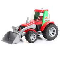 Roadmax-traktori etukuormaimel (Bruder 20102)