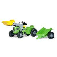 Rollykid traktori ja perävaunu (Rolly Toys 630035)