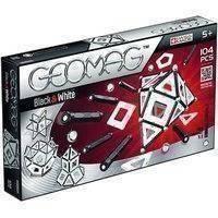 Geomag palaset Musta ja valkoinen 104 osaa (Geomag 13)
