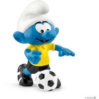 Jalkapallosmurffi ja pallo (Smurffit 20806)