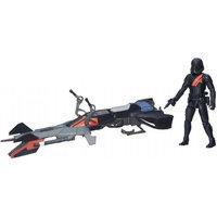 Elite Speeder Moottoripyörä ja Iskujoukkosotilas (Star Wars)