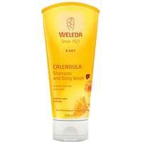 Weleda Calendula Shampoo And Body Wash, 200 ml Weleda Luonnonkosmetiikka