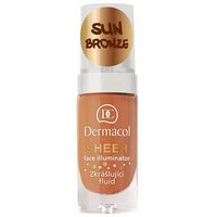Dermacol Sheer Face Illuminator (15mL) Sun Bronze