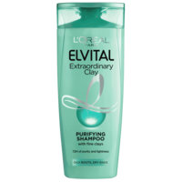 L'Oreal Elvital Extraordinary Clay Shampoo (250mL)
