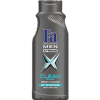 Fa Shower Gel Men Xtreme Clean Pulse (400mL)