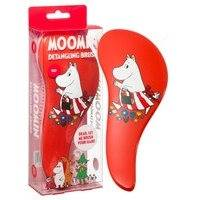 Moomin Detangling Brush Red