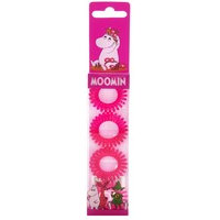Moomin Hair Ring Pink, Muumi