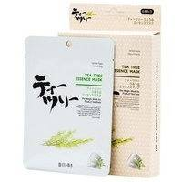 Mitomo Tea Tree Essence Mask Box (4pcs)