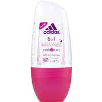Adidas Cool & Care 6in1 Roll-On Deodorant (50mL)