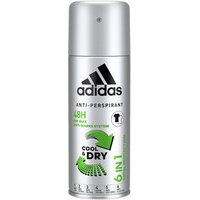 Adidas Cool & Dry 6in1 Deospray (150mL)