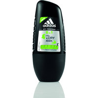 Adidas Cool & Dry 6in1 Roll-On Deodorant (50mL)